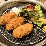 鎌倉うどんダイニング波音 - 牡蠣フライ