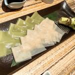 鎌倉うどんダイニング波音 - 饂飩のお刺身食べ比べ
