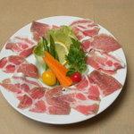 レストラン ローズマリー - 生ハムのカルパッチョ
