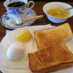 たんぽぽ - モーニングセット トースト