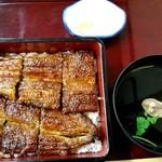 うな久 - 料理写真:上うな重(3400円)