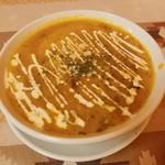 カレーハウス - かぼちゃカレー(甘口)