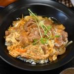 博多チャオめん - 生姜焼き玉子丼