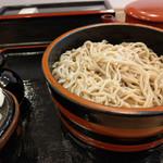 信州蕎麦の草笛 - もり蕎麦~☆