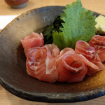 信州蕎麦の草笛 - 鯉のあらい~☆