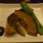 10084956 - 秋の京野菜鉄板焼き