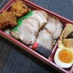 肉のたかさご - 東京やき豚からあげ重!
