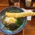 うどん屋麺之介 - 元祖 アナゴぶっかけ 740円なり