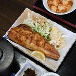 うえき - 焼き魚定食