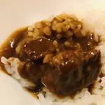 Cray pod curry Ohmiya Seiuemon - カレー&ビーフ&ライス にズーム