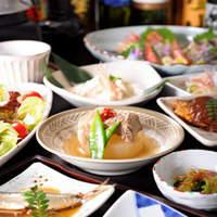 ぽろ ホームメイドキッチン - ぽろの一品コース~〆は釜飯でお楽しみください。