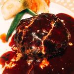 下北沢 肉バル Bon - 馬肉ハンバーグ