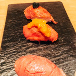 下北沢 肉バル Bon - 肉寿司