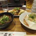 牛すじ壱成 - 料理写真:宴のはじまりなのだ