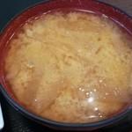 つくば屋 - 具沢山な味噌汁