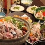 やどんげ - 幻の魚クエ鍋コース