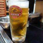 じゃじゃ美味 - 2019年1月 生ビール