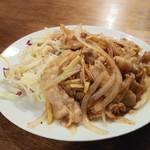 楽楽一番 - 生姜焼き肉単品780円