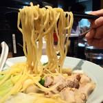 麺家千晃 - 家系light780円麺アップ