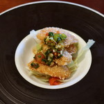 ジャスミン - 白身魚のお米の衣揚げ