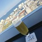 八景 - ランチビール¥594(税込)