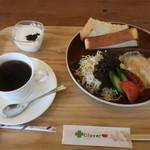 クローバーカフェ - 料理写真:Aモーニング