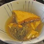 木野商事 - 料理写真:厚揚げ煮物