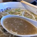 椿ラーメンショップ - スープ