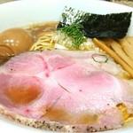 心の味製麺 - 鶏と煮干しの淡麗らーめん 800円