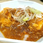 心の味製麺 - ミニ麻婆丼 350円