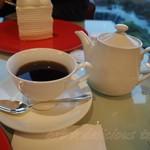 100871356 - ジョイフルセットのコーヒー
