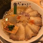 100871775 - 叉焼純粋豚そば(醤油)