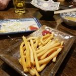 立呑 田んぼ道 - 〆はポテトフライ