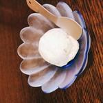 手打ち蕎麦 無垢 - 自家製そばアイス