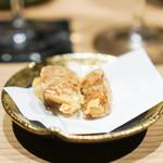 焼うお いし川 - 筍の紹興酒漬けの揚げ物