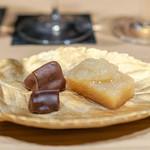 焼うお いし川 - 水羊羹 野菜チョコレート
