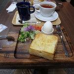 小川珈琲 - トーストモーニング¥600