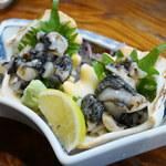 あけぼの - しゃこ貝の刺身