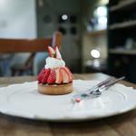ポッカリ - 料理写真:2019年1月再訪:苺のタルト☆