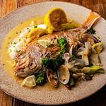 東灯 - 料理写真:鯛のレモンバターソース