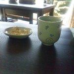 10089648 - お茶、揚げ蕎麦