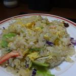 餃子酒家 - 炒飯選べるセット(カニレタス炒飯)