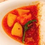 カマル - 野菜カレーは甘い