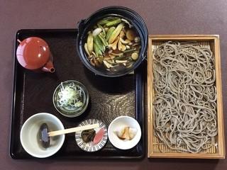 あいかも会館 - 鴨つけ麺 ¥1100