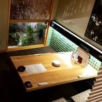 菜な - 半個室テーブル席