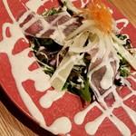菜な - パルミジャーノのと生ハムのシーザ-サラダ