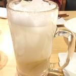 ともすけ - 白レモンサワー 540円