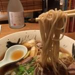 志波田 - 鴨南蛮そば(1,200円税込) 蕎麦