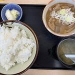 菜嘉村 - もつ煮定食