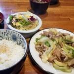 きーとどん - 豚の生姜焼き(880円)